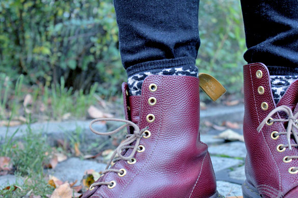 leopard and dr martens boots