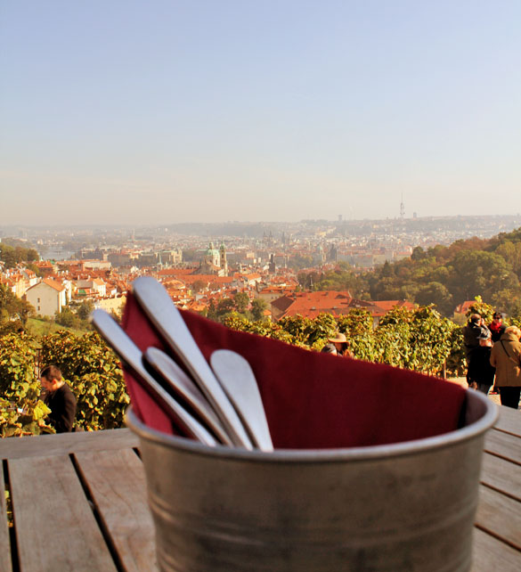 the view bellavista prague castle