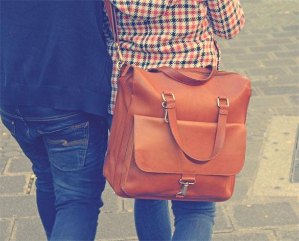 Leather Bag Unisex