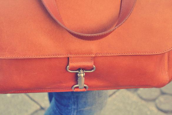 Leather Bag Clutch