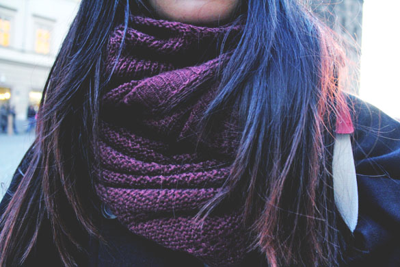 Loop Scarves Wool