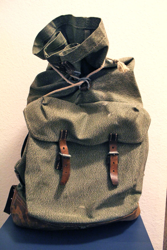 military vintage bag