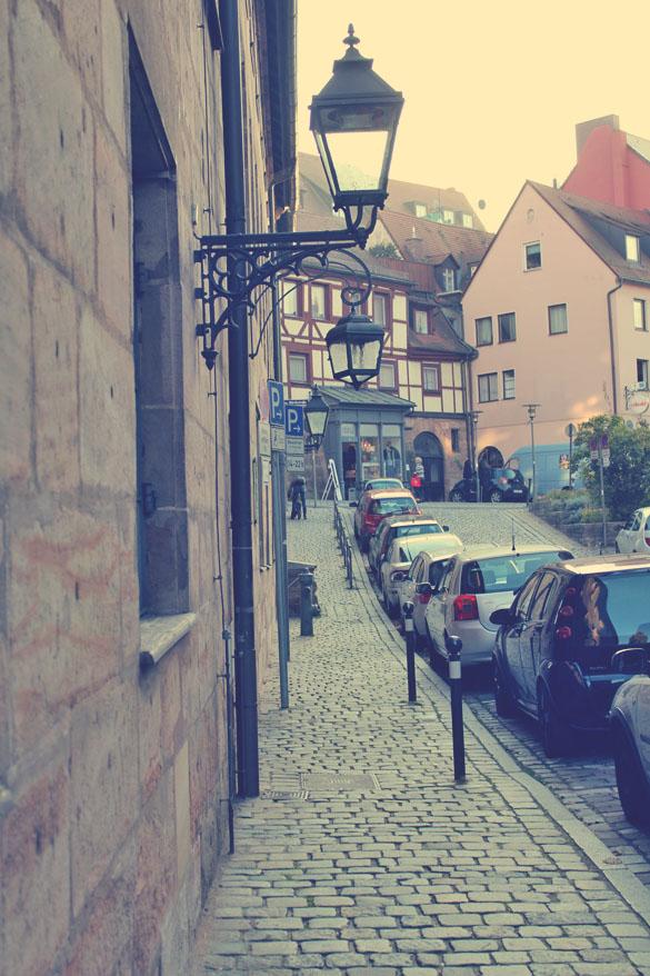 Nürnberg Sidewalk