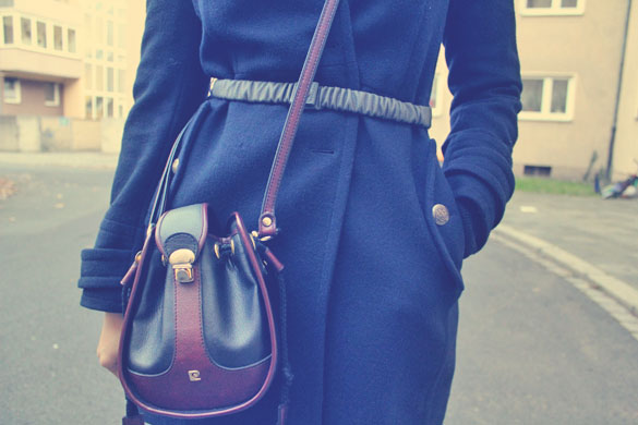 Belt and Pierre Cardin Bag