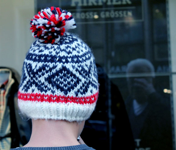 Knitted Bobble Beanie
