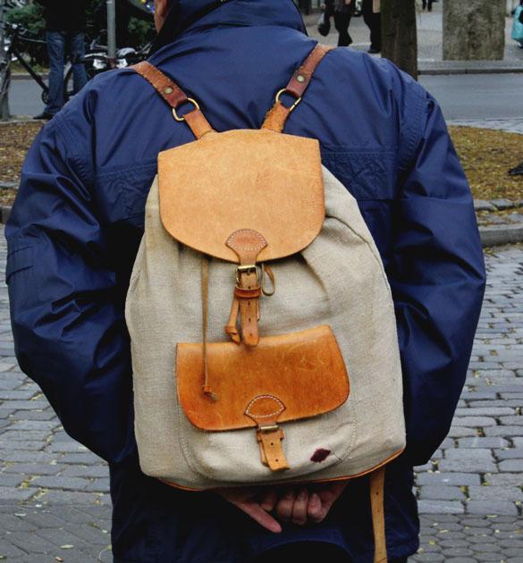 Bree Vintage Rucksack