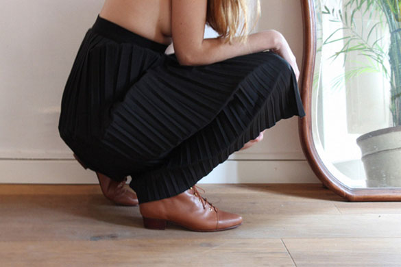 About Arianne brown shoes for women
