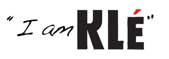 Kle the label logo