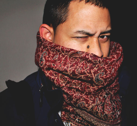 Marc Jacobs scarf for men