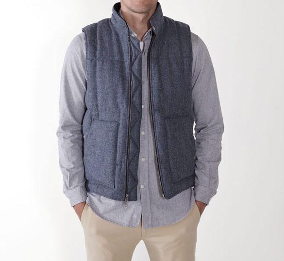 Outlier blue vest