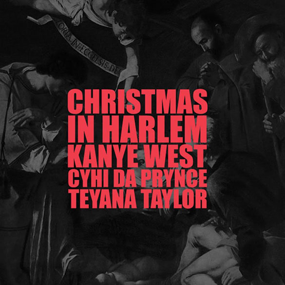 Kanye West christmas in harlem album cover
