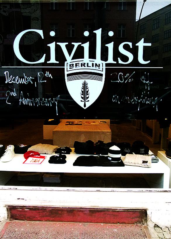 civilist berlin front window