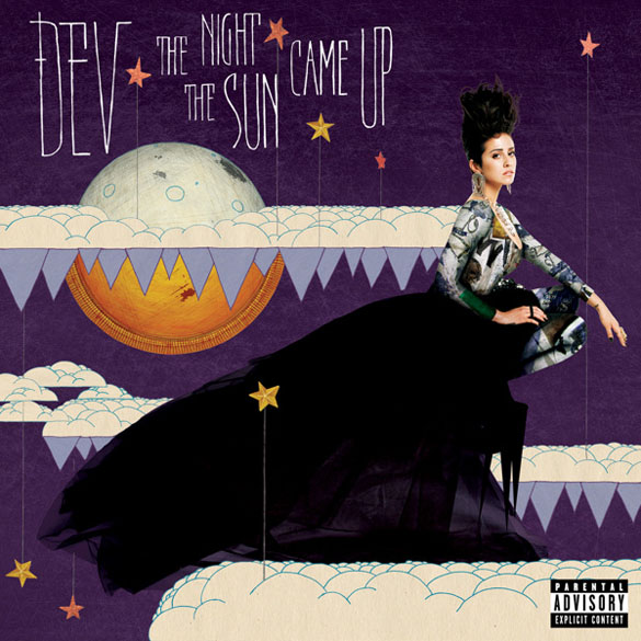 Dev the night the sun came up album cover art