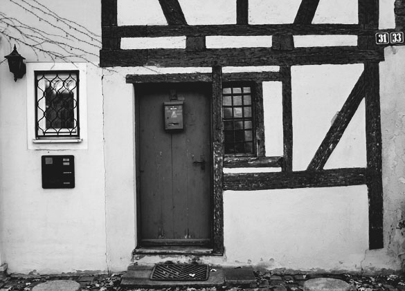 house door in nürnberg