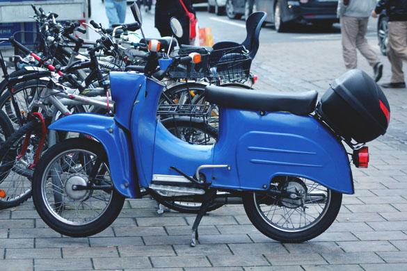 simson schwalbe blue