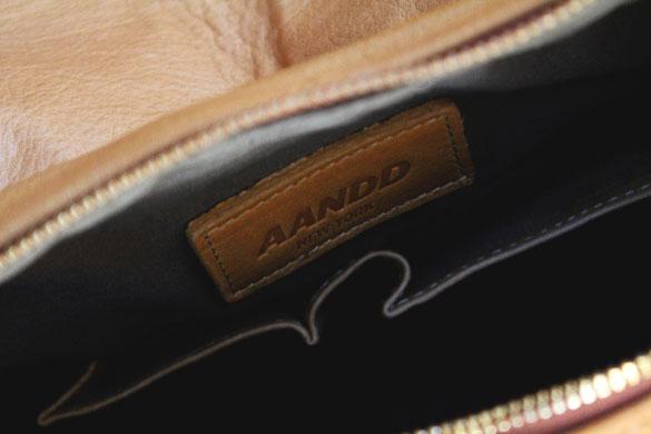 aandd academy satchel label