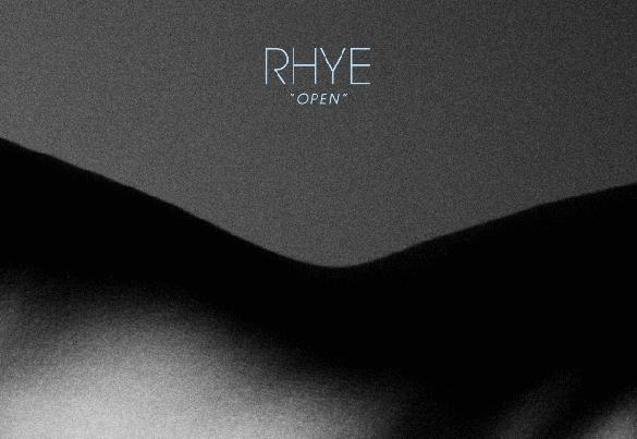 album cover rhye open