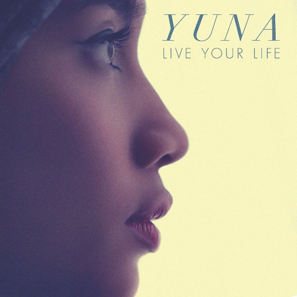 album cover yuna live your life