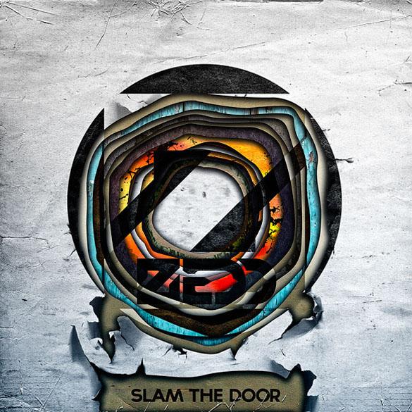 album cover zedd slam the door