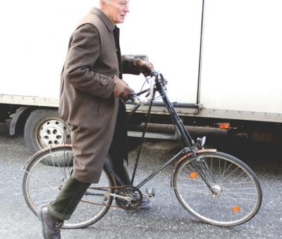 Photo antique bicycle