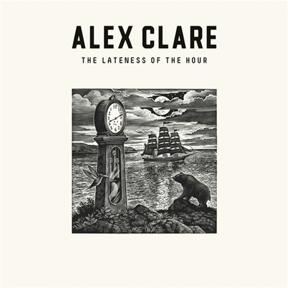 album cover alex clare the lateness of the hour