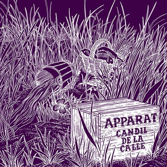 album cover apparat candil de la calle
