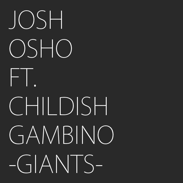 album cover josh osho