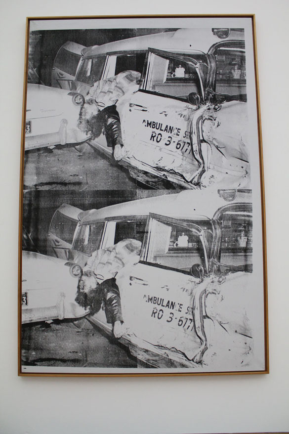 andy warhol ambulance disaster