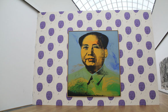 artwork andy warhol mao