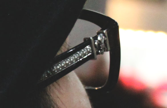 chrome hearts eyewear sidelook