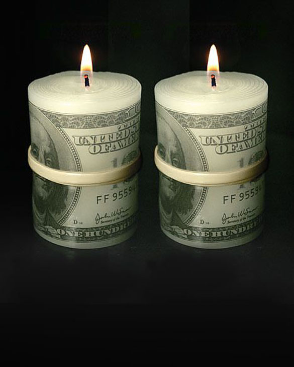 money candle
