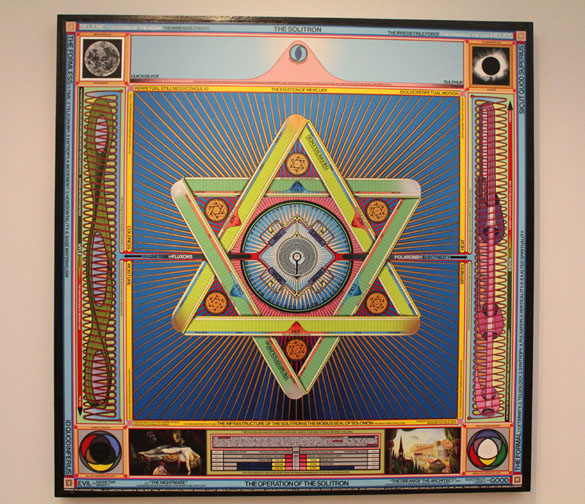 artwork paul laffoley the solitron