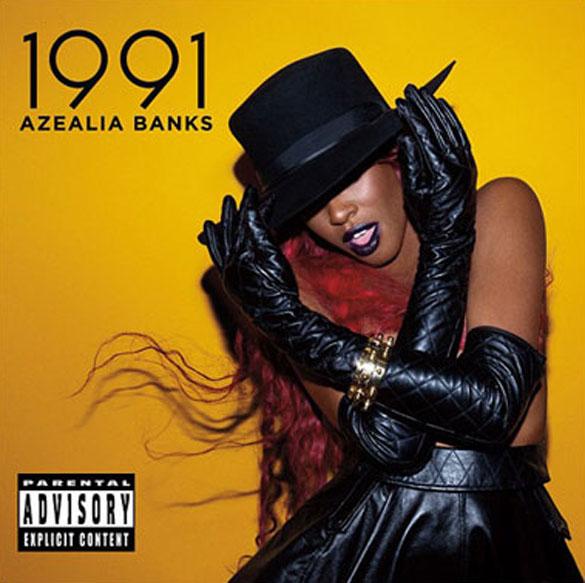 azealia banks 1991 album cover