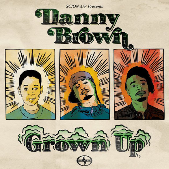 danny brown album cover
