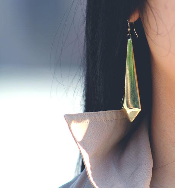 primark gold earring