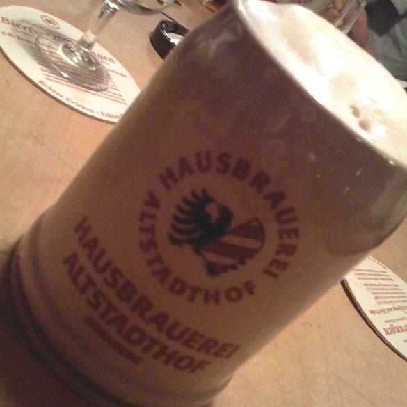 rotes bier hausbrauerei altstadthof