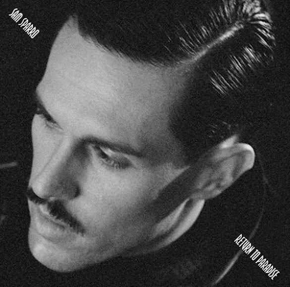 sam sparro return to paradise album cover
