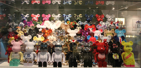 bearbrick complete collection art & toys exhibition berlin