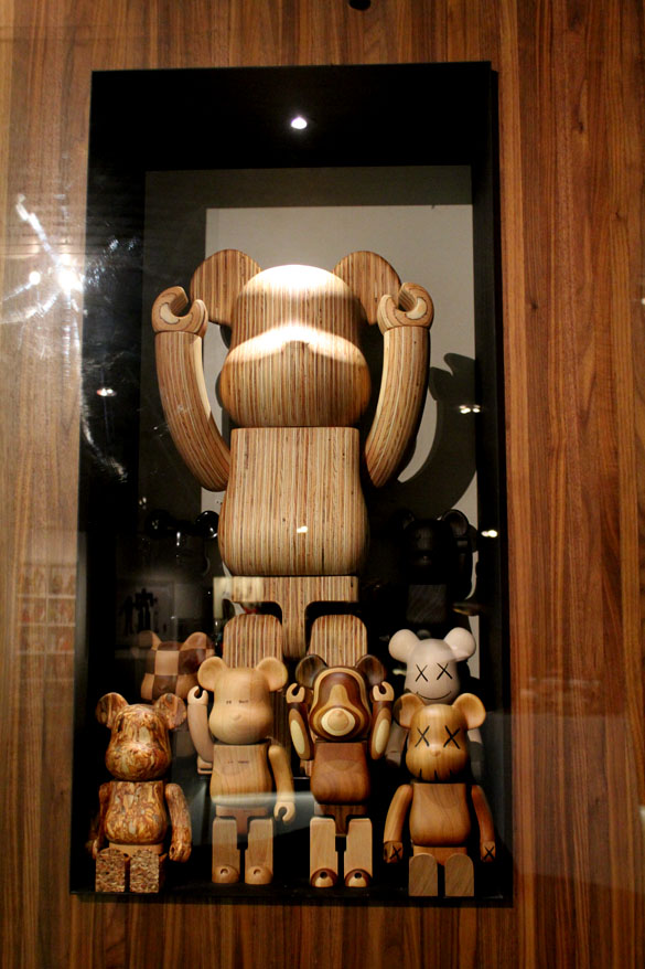 bearbrick wood collection art & toys exhibition berlin