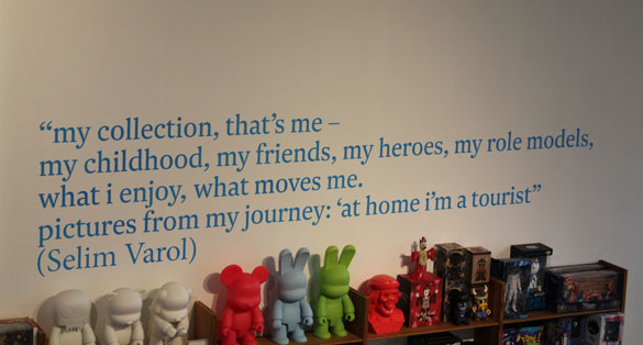 selim varol quote at art and toys exhibition in berlin