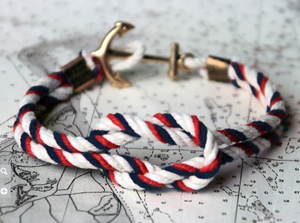 kiel james patrick rope bracelet