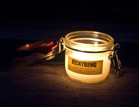 jeckybeng surf wax candle