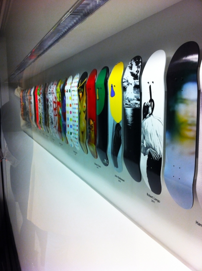Supreme x 032c Workshop boards