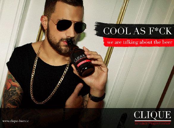 Clique Bier Werbung 2