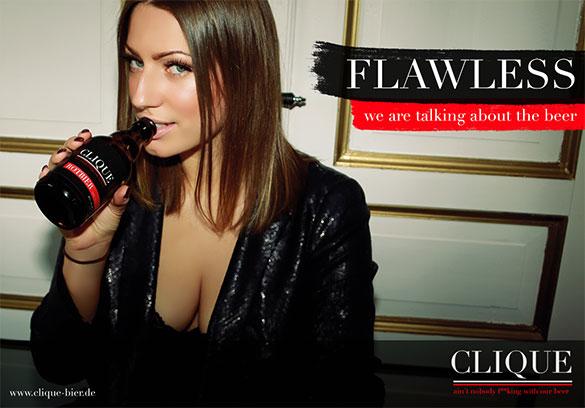 Clique Werbung