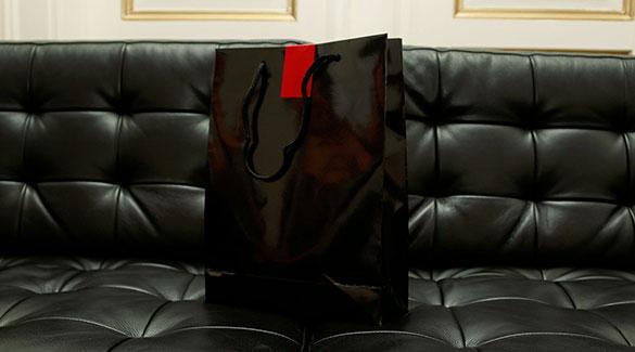 Clique Bier Black Bag