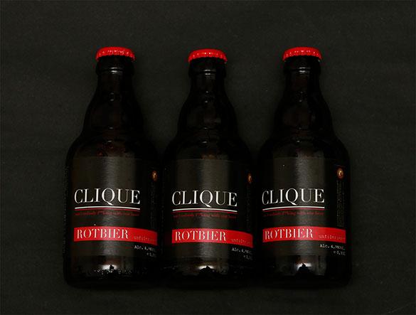 Clique Bier Bottle